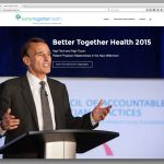 Event page for the 2015 Better Together Health event, featuring Robert Pearl at a lecturn