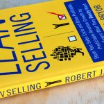 "Side view of cover and spine for the book, ""Lean Selling"" by Robert J Pryor"