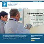 home page for Council for Accountable Physician Practices